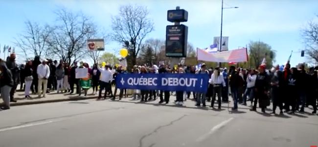 Québec Debout Montréal