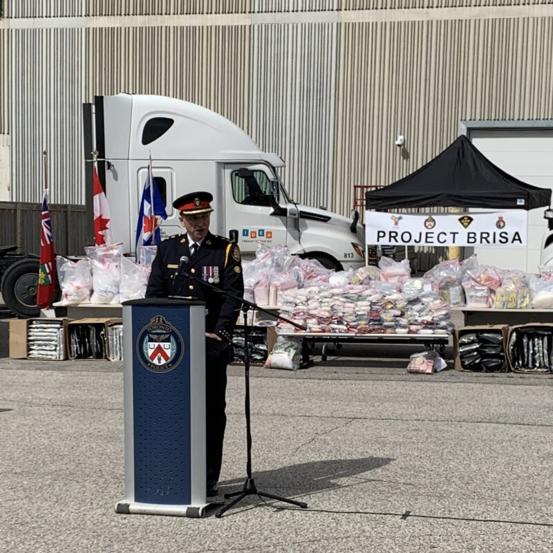 """""""Project Brisa"""": Toronto Police seize M worth of drugs, 20 people charged"""